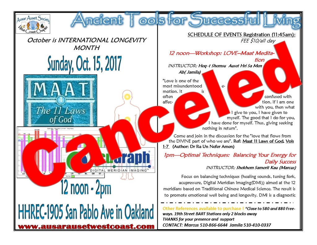 October Class 2017_canceled